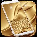 Luxury Gold Keyboard Theme download