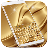 Luxury Gold Keyboard Theme