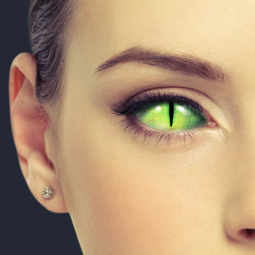 眼睛的颜色风格的隐形眼镜 模擬 App LOGO-硬是要APP