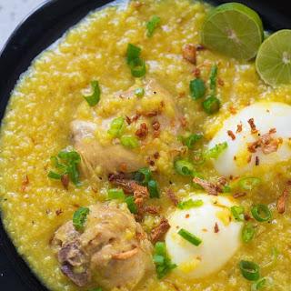 Chicken Arroz Caldo.