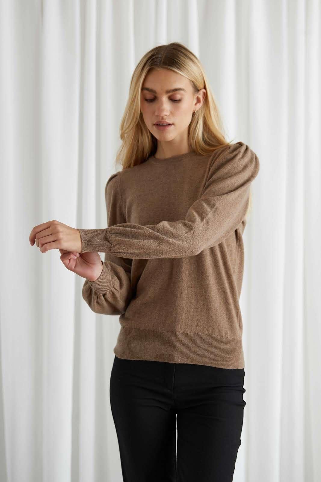 Puff Balloon Sleeve Sweater