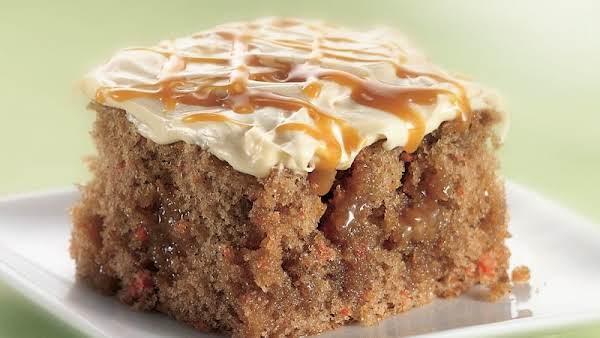 Caramel-carrot Poke Cake Recipe