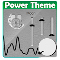 Moon Poweramp Skin icon