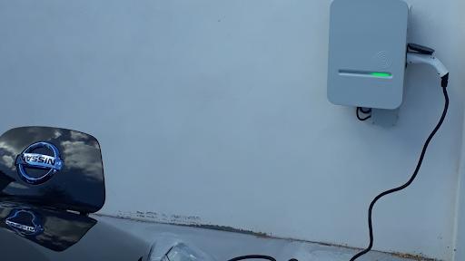 Borne HAGER type 2 pour VE véhicule électrique