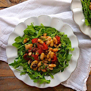 Roasted Tomato and Cannellini Bean Salad