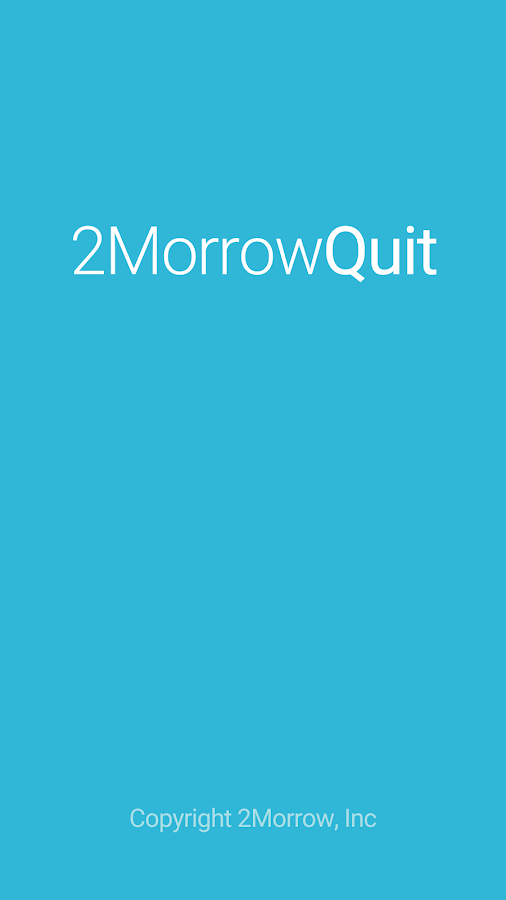 2MorrowQuit (was SmartQuit)- screenshot