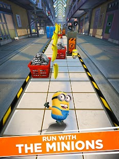 Minion Rush: Despicable Me Official Game Screenshot