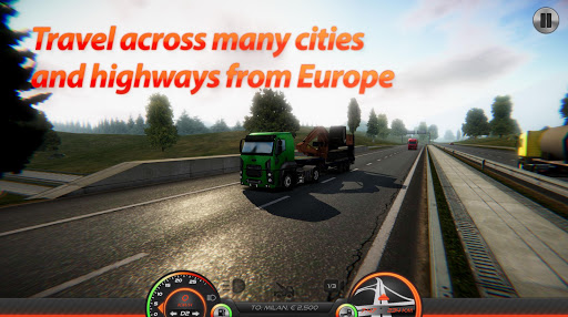 Truck Simulator : Europe 2 0.2 gameplay | by HackJr.Pw 16