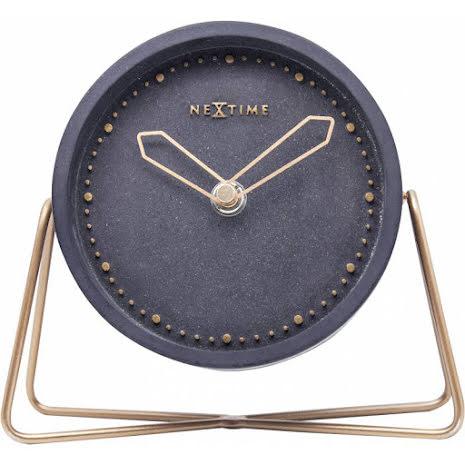 Cross Table Bordsklocka Svart