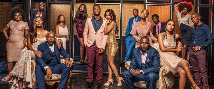 The cast of Isithembiso
