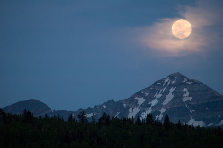by Sensa Wolcott - Landscapes Mountains & Hills ( pwcmoonscapes )