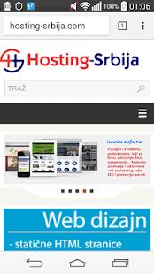HostingSrbija - náhled