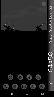 Samurai KLWP - náhled