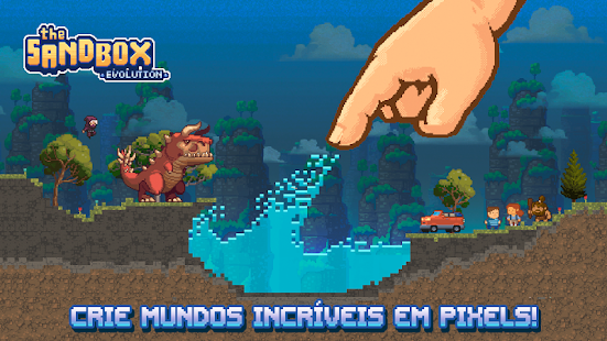 Download The Sandbox Evolution v1.3.6 APK Full - Jogos Android - Brasil Android Games