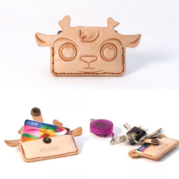 小鹿迷你八達通套 deer mini octopus holder