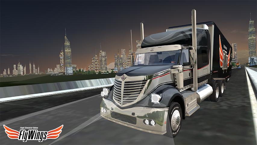 android Truck Simulator 2016 Free Game Screenshot 1