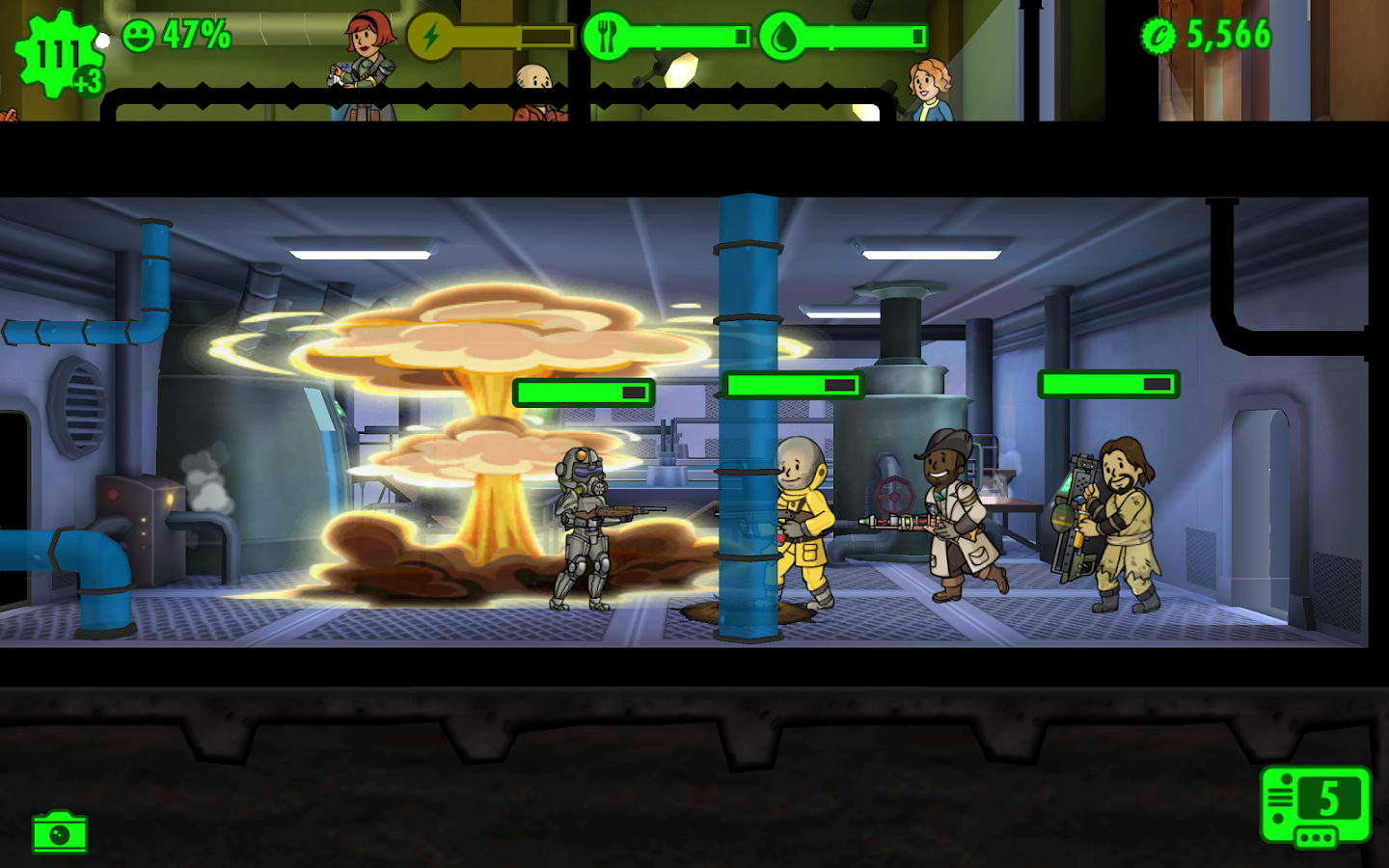 Fallout Shelter – Screenshot