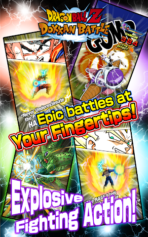 android DRAGON BALL Z DOKKAN BATTLE Screenshot 1