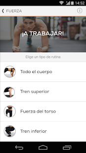 Sworkit Entrenador Screenshot