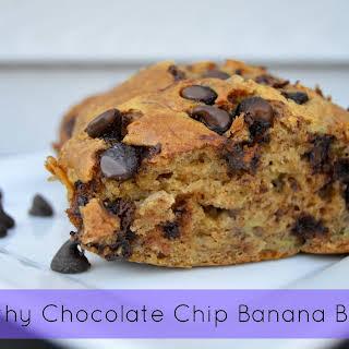 Healthy Chocolate Chip Banana Bread.