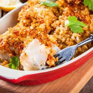 Baked Breaded Cod Recipe