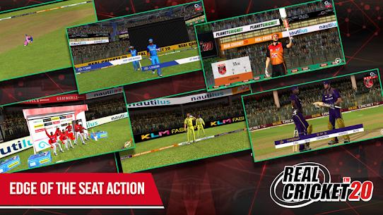 Real Cricket 20 MOD APK 3.7 4