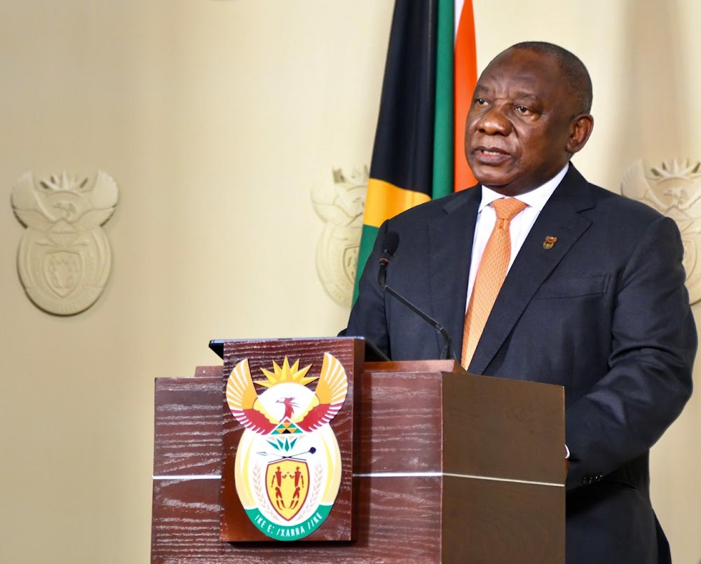 Professional sports events remain prohibited in SA' says president Cyril Ramaphosa in address