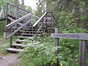 Photo: Hier kwamen we op een stukje van de Grote Berenroute (Karhunkierros) uit.