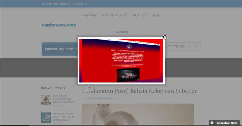 WordPress Plugin Review Hijackrr - Image Popup
