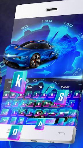 Neon Purple Supercar Typewriter 10001002 screenshots 2