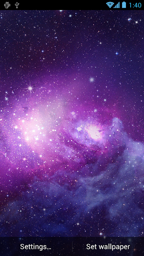 銀河動態壁紙