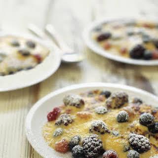 Mixed Berries with Sabayon.