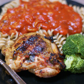 Grilled Marinara Chicken