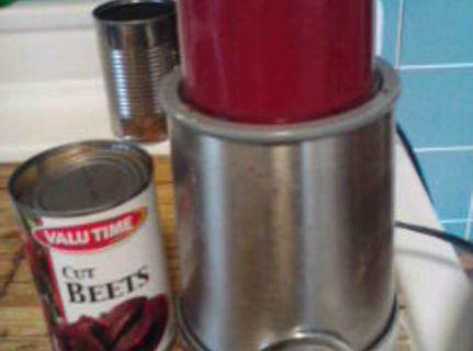Puree pears. Blend 1/2 cup pears with beets (i used my bullet.)Add puree to...
