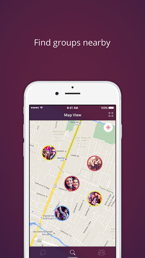 Funtr - Meet New People in Groups- screenshot