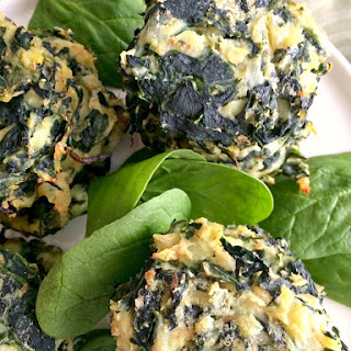 Spinach Sweet Potato Cakes