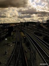 Photo: Tracks under the Broadway Bridge