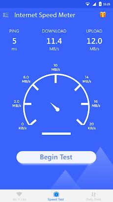 internet speed meter speedtest androidアプリ applion