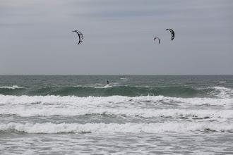 Photo: am Strand von Vauville