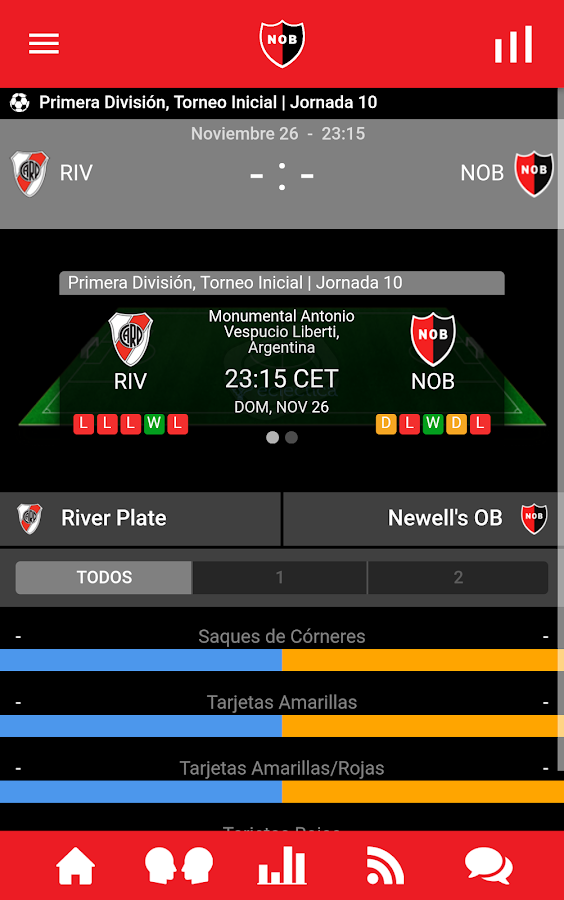Newell's Oficial- screenshot