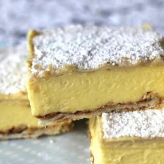 Custard Vanilla Slice