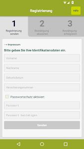 DKV RechnungsApp screenshot 1