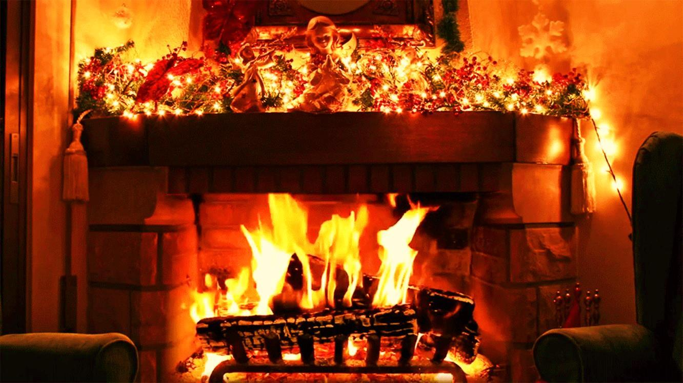3d Candle Live Wallpaper Christmas Fireplace Live Wallpaper Android Apps On
