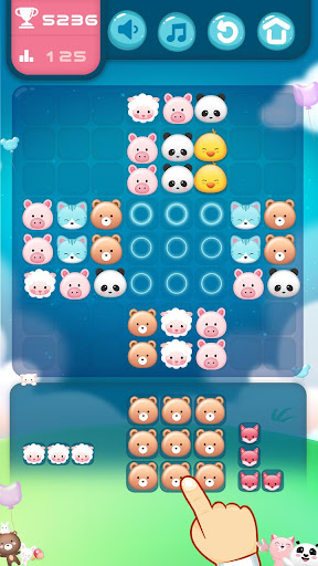 Animal Block Puzzle screenshot 3