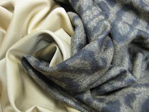 Photo: Ткань: пальтовая (80% шерсть 20% полиэстр), ш. 145 см., цена 5000р. Ткань: шерсть даблфейс ш. 140см., цена 4200р.