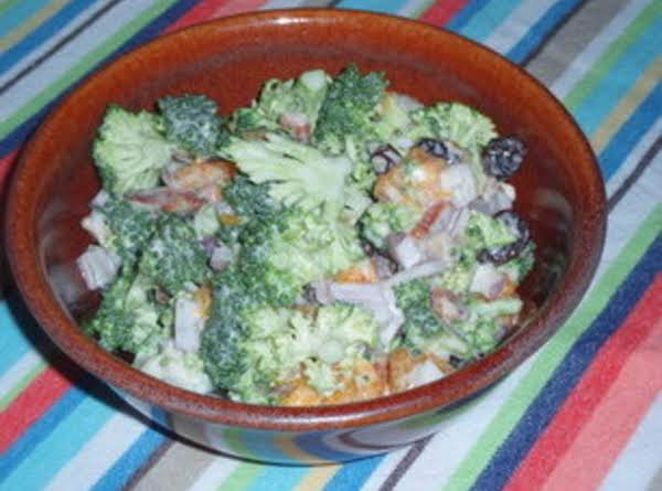 Broccoli Orange Salad Recipe