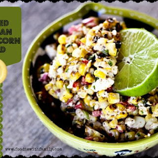 Grilled Mexican Street Corn Salad