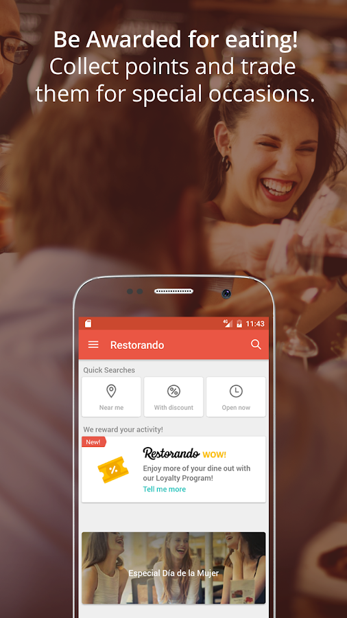 Restorando: Book a Table- screenshot