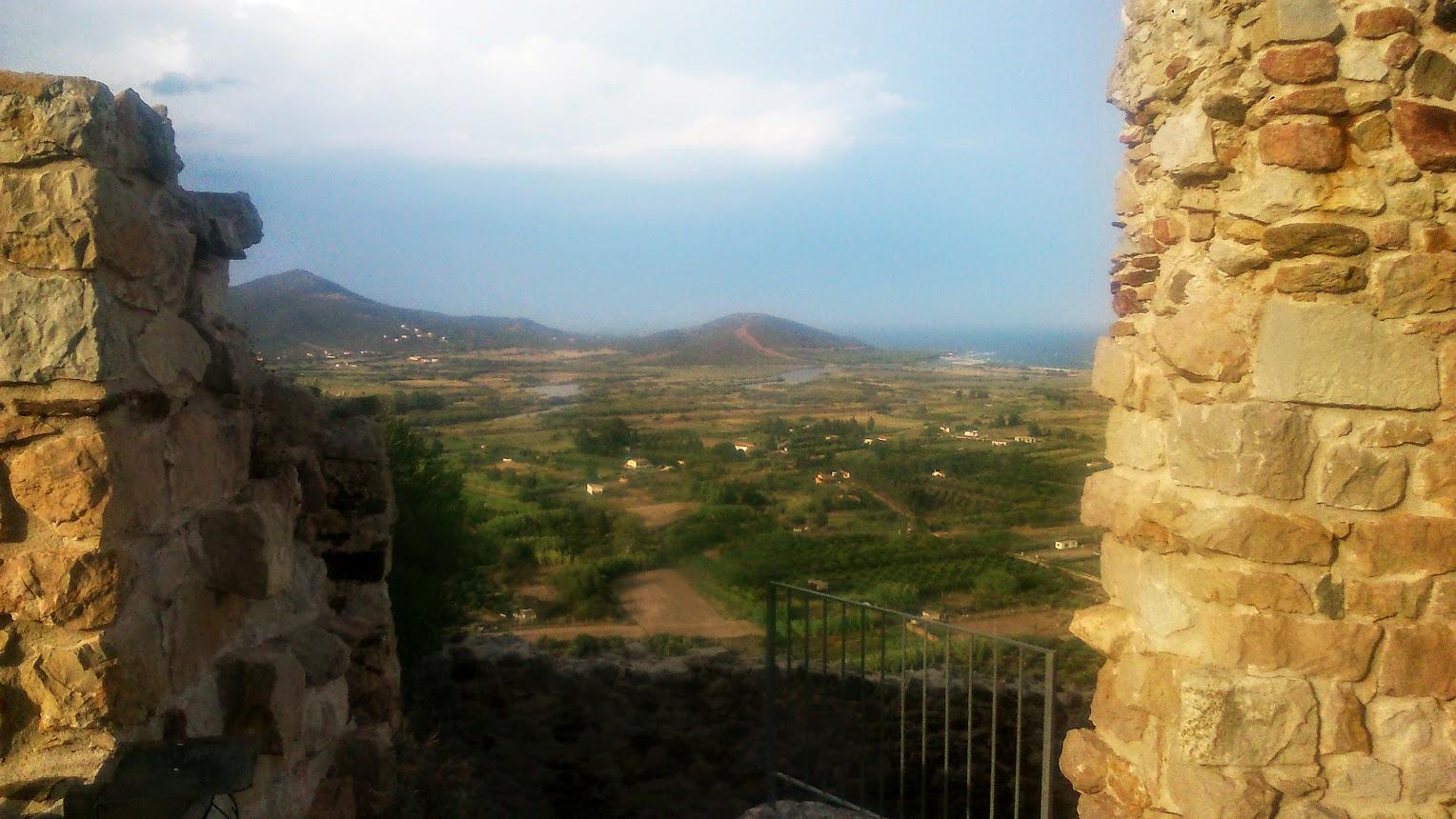 Вид с башни в городе Позада