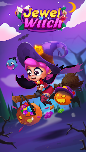 Télécharger Jewel Witch -- Magical Blast Free Puzzle Game APK MOD (Astuce) screenshots 1